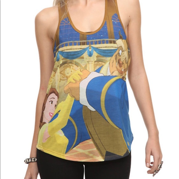 Disney Beauty & The Beast Top Hot Topic Size XS